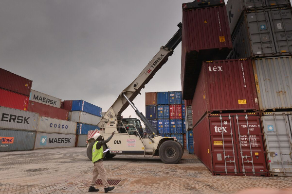 container freight station located in mombasa kenya